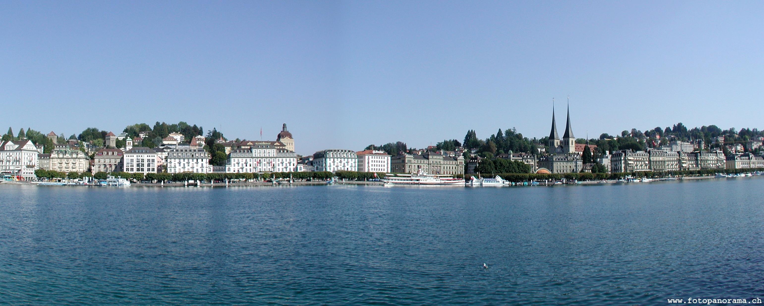 Luzern Seepromenade