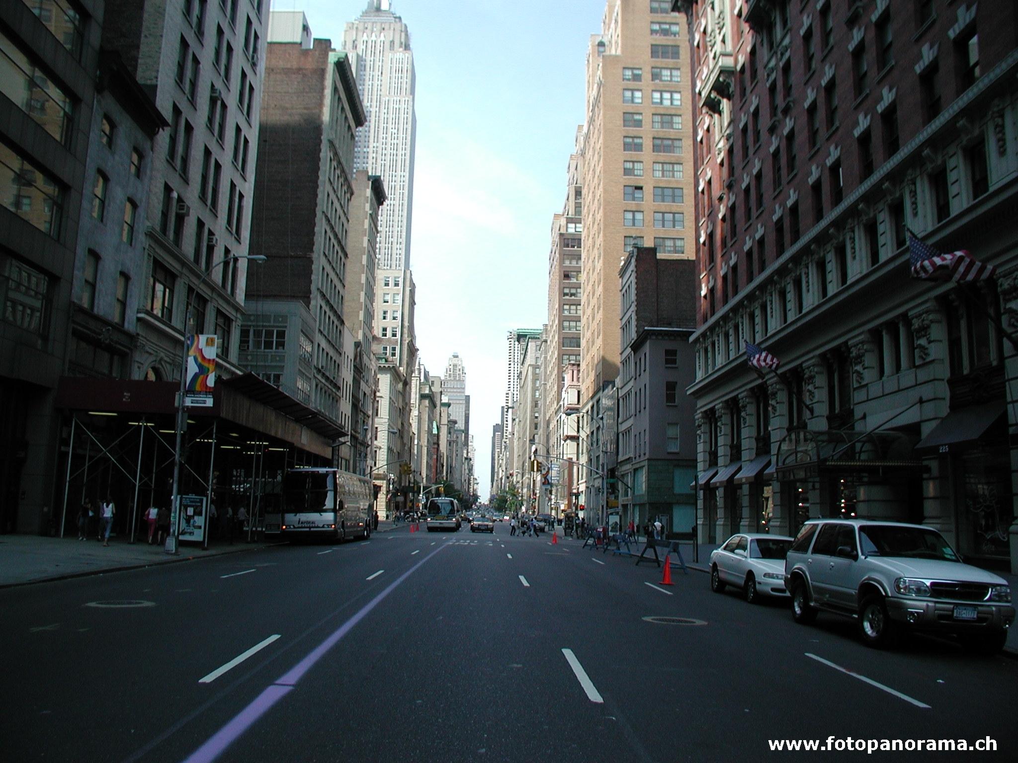 Straße New York