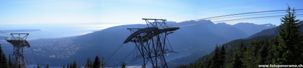 Grouse Mountain Panorama 1