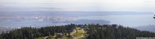 Grouse Mountain Panorama 2
