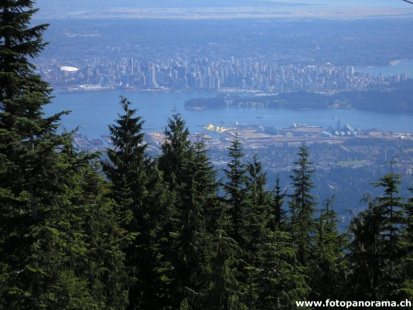 Vancouver, seen from Grouse Mountain