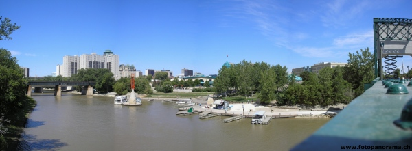Winnipeg, The Forks Marina
