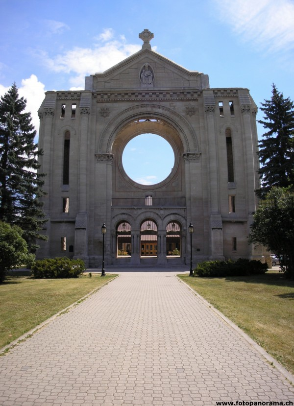 Winnipeg, Saint Boniface Cathedral