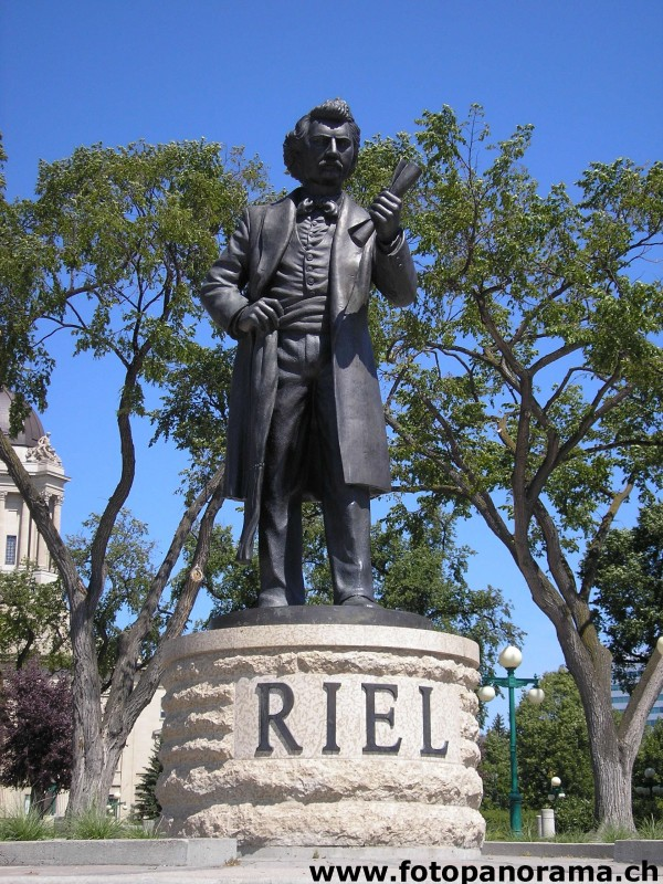 Winnipeg, Louis Riel