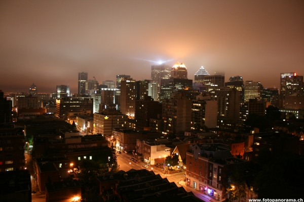 Montreal, Ville-Marie at night