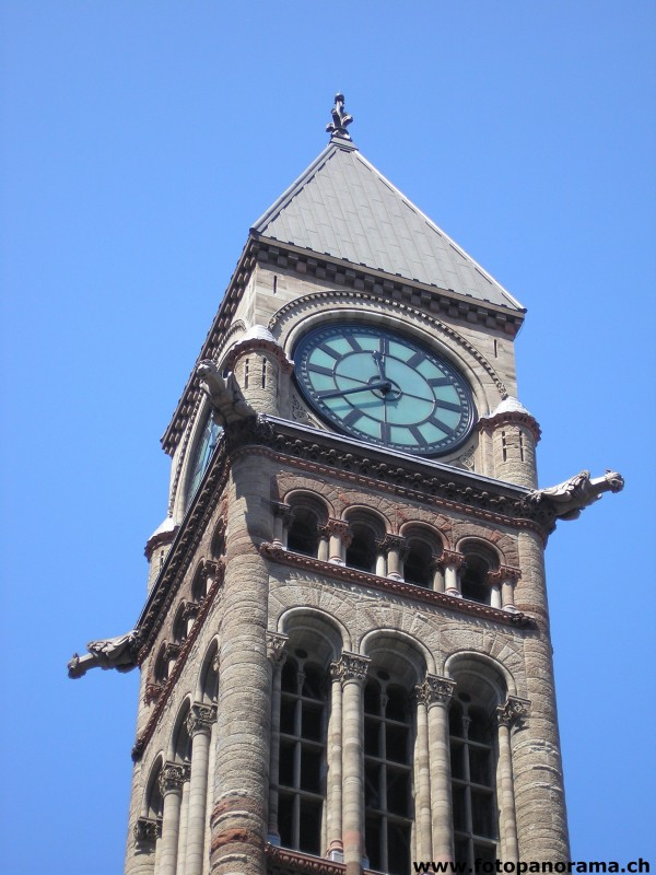 Toronto, Clock of the old City Hall