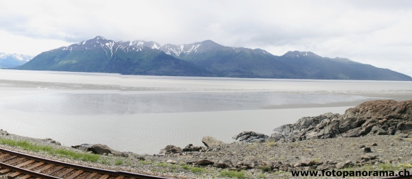 Seward Highway, Golfo di Cook