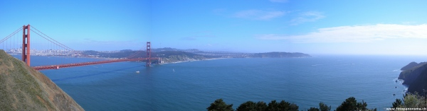 San Francisco, Golden Gate Bridge Panorama 2